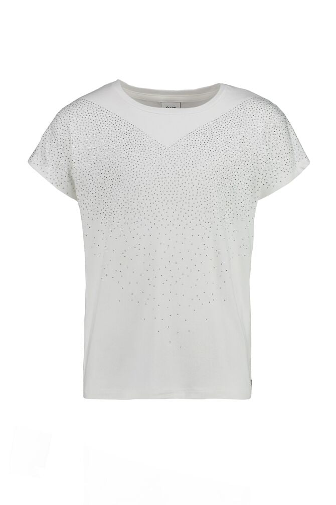 CKS GIRLS ADINA off white tshirt short sleeve