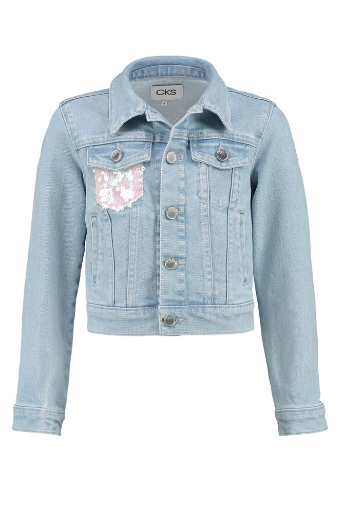 CKS GIRLS DAISY light blue jacketfantasy short