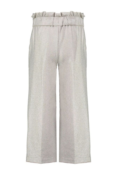 CKS GIRLS DION silverwhit trousers 3/4