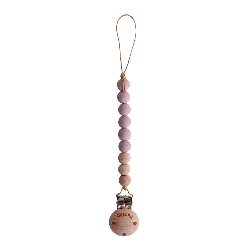 MUSHIE SPEENKETTING mauve/wood