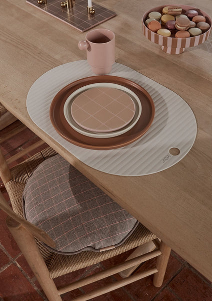 OYOY Ribbo placemat off white (set of 2)