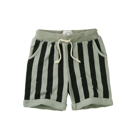 BABY SPROET & SPROUT SHORT PAINTED STRIPE