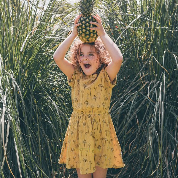 SPROET & SPROUT dress print palm tree