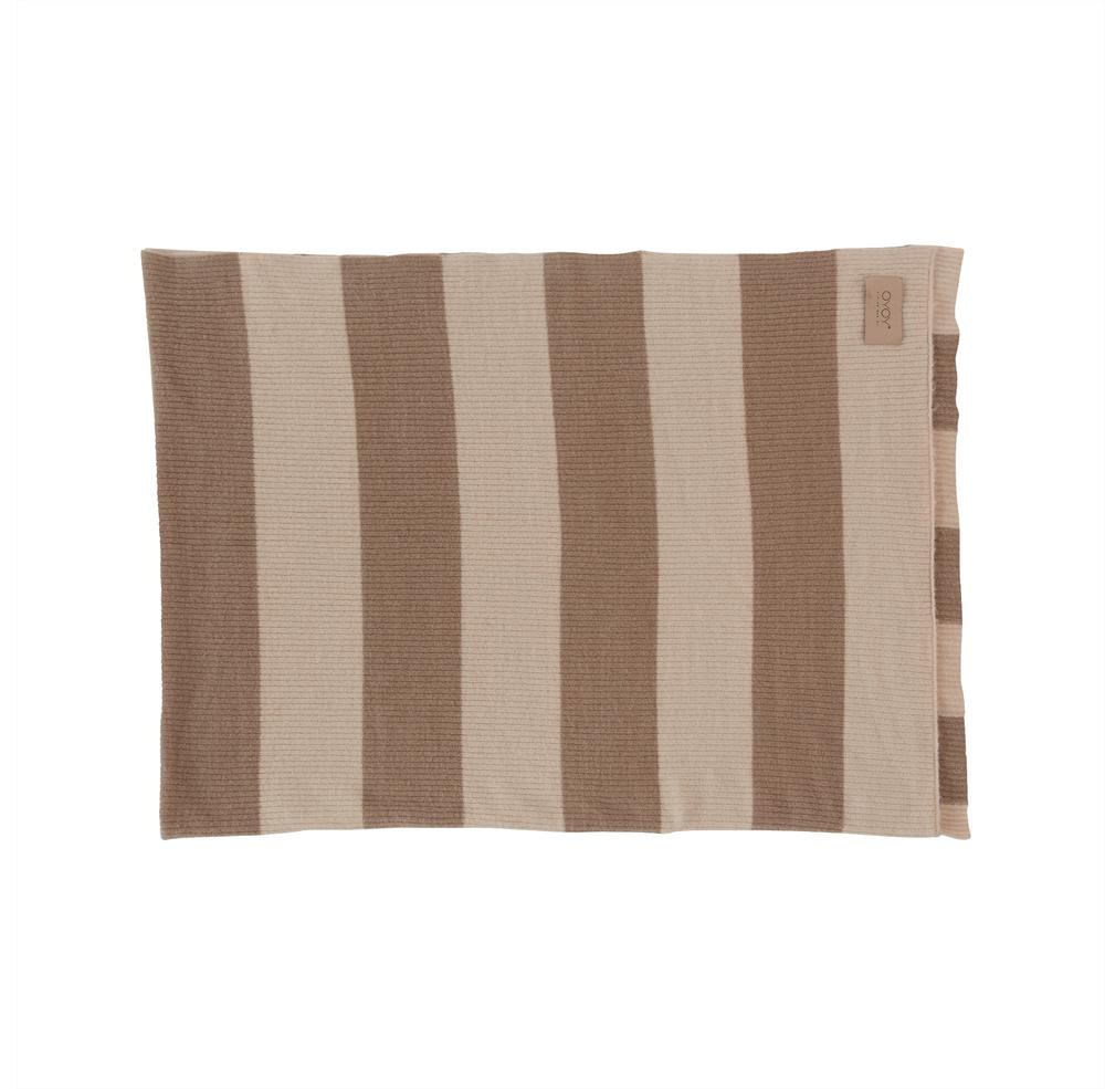 OYOY Sonno plaid 130x170 brown/nude