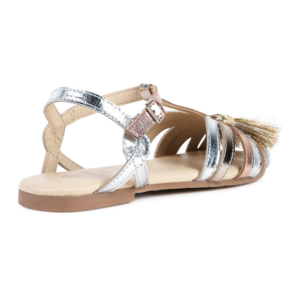 CARREMENT BEAU sandalen metallic (y09006 z40)