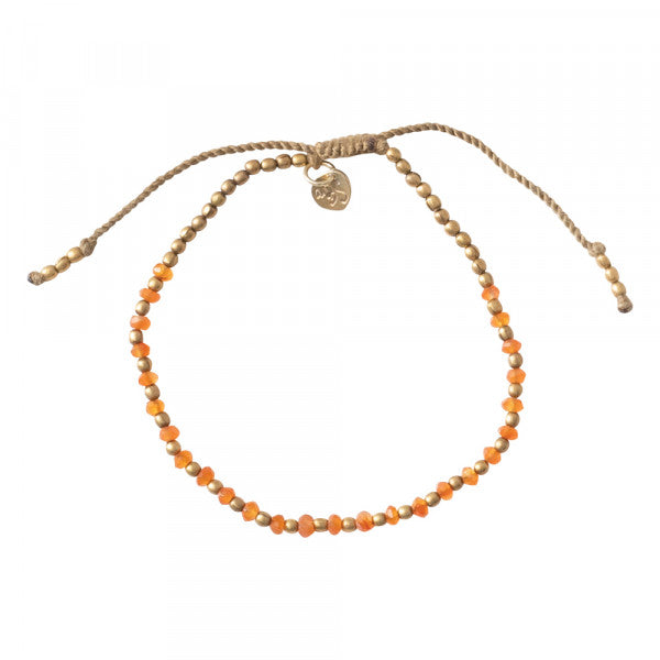 Armband Beautiful Carnelian Gold bracelet BL24568