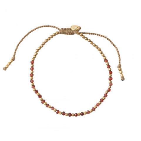 Armband Beautiful Garnet gold bracelet BL25068