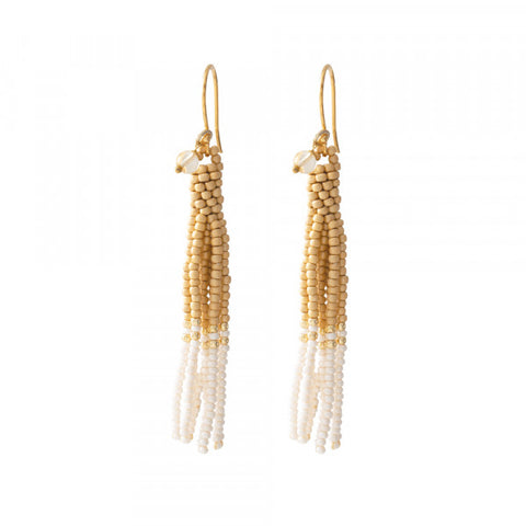 Oorbel Dream Citrine gold earrings BL25162