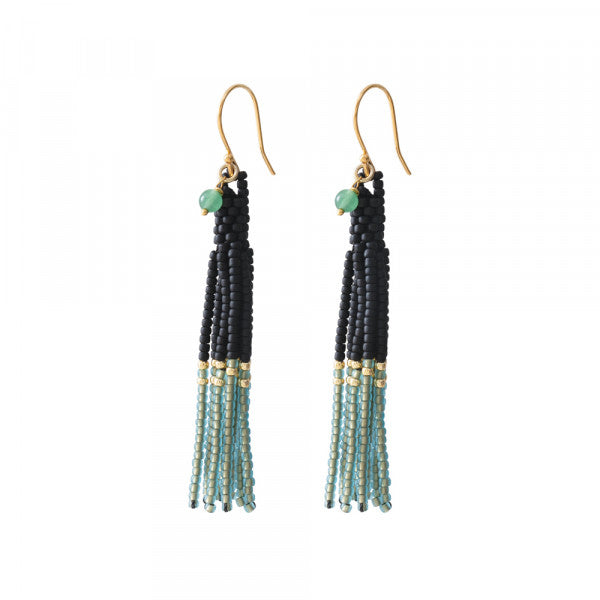 Oorbel Dream Adventurine Gold earrings BL25362