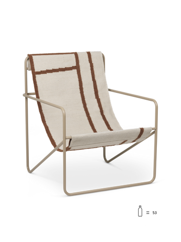 Ferm living desert chair cashmere/shape