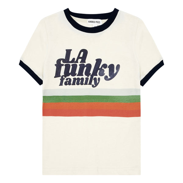 HUNDRED PIECES la funky family tshirt