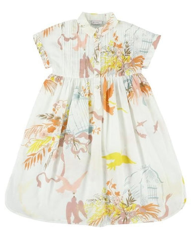 MORLEY LAMBADA paloma white dress