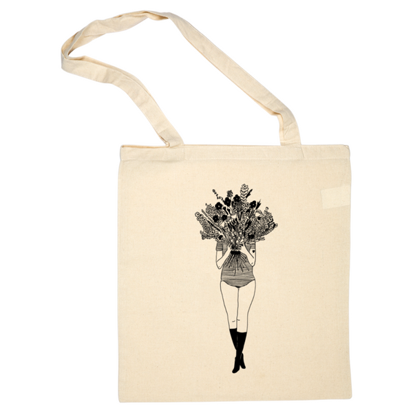 Helen b tote bag flower girl