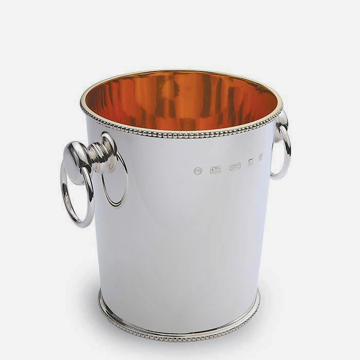 Sterling Silver Excellent Quality Wine Cooler