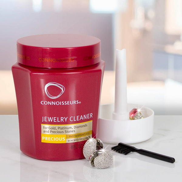Connoisseurs jewellery cleaner for gold, platinum, diamonds & precious stone jewellery