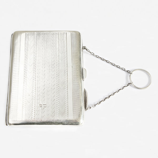An Edwardian Silver Finger Purse & Pencil, Chester 1904 - Secondhand