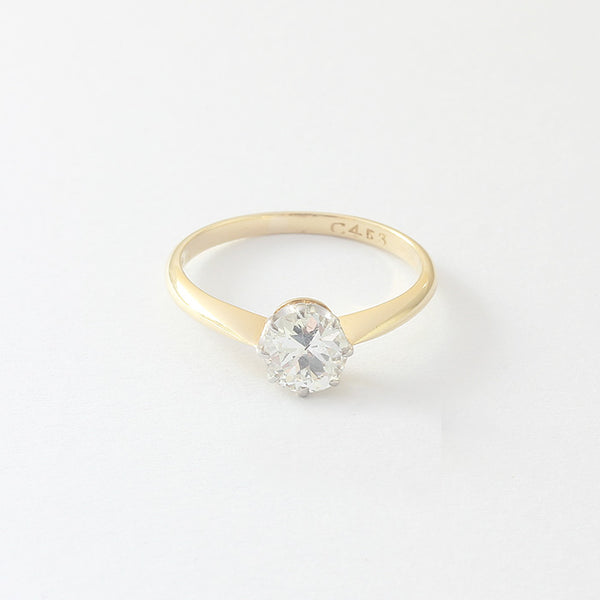 a beautiful vintage diamond engagement ring at marston barrett jewellers in lewes