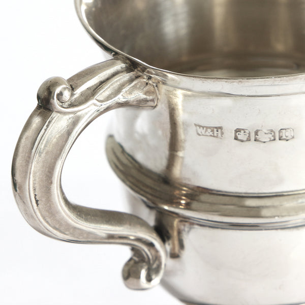 a sterling silver vintage trophy cup with plinth dated 1930 at Marston Barrett in lewes