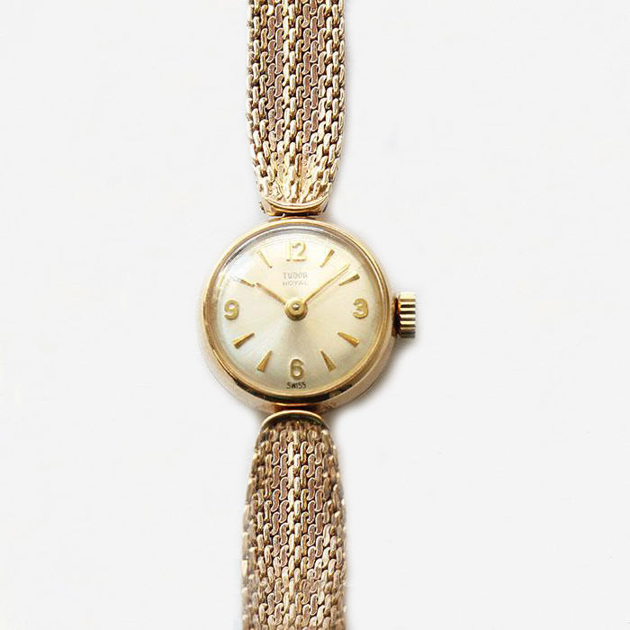 Ladies Tudor Royal 9ct Gold Wrist Watch - Secondhand