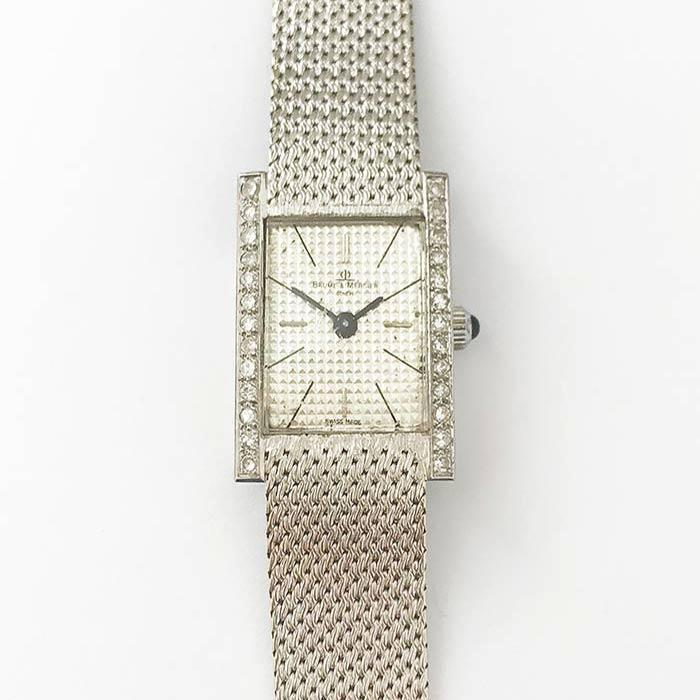 50cf930ba39 a ladies baume and mercier wrist watch in 18 carat white gold case and  bracelet with