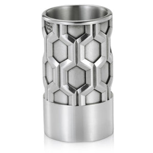 Pewter Hexagon Drinks Measure by Royal Selangor