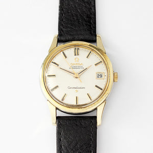 a mens vintage omega watch constellation with chronometer 1960 model