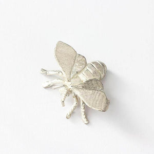 A sterling silver bee figure with great detailing and all british made with hallmark