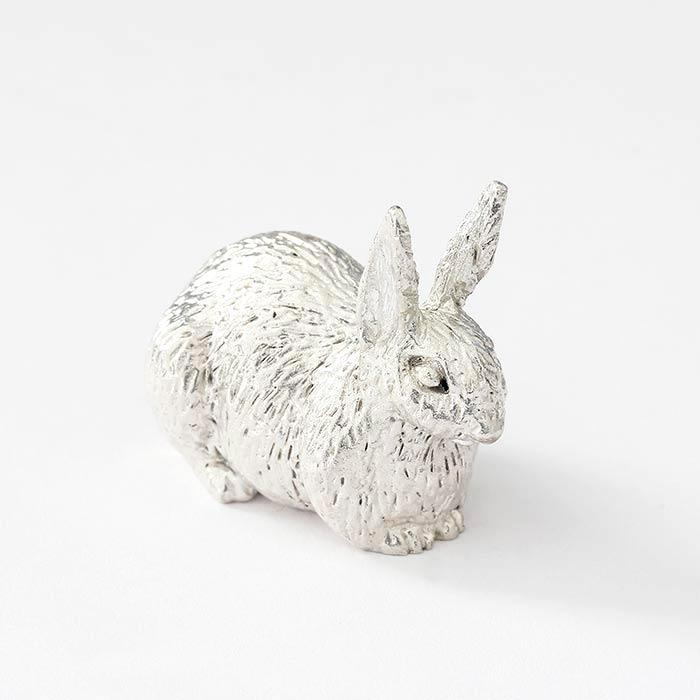Sterling Silver Rabbit Ornament