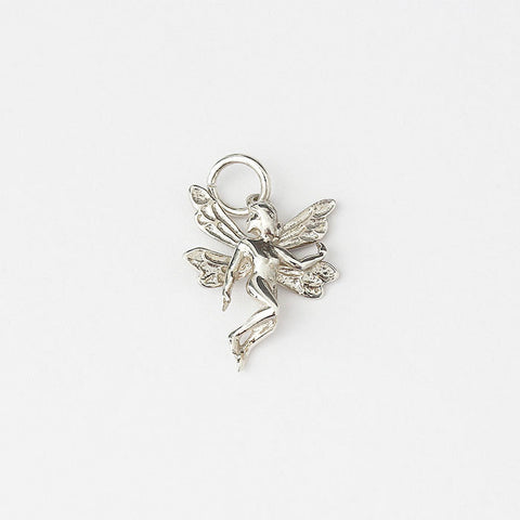 silver fairy charm with traditional fitting