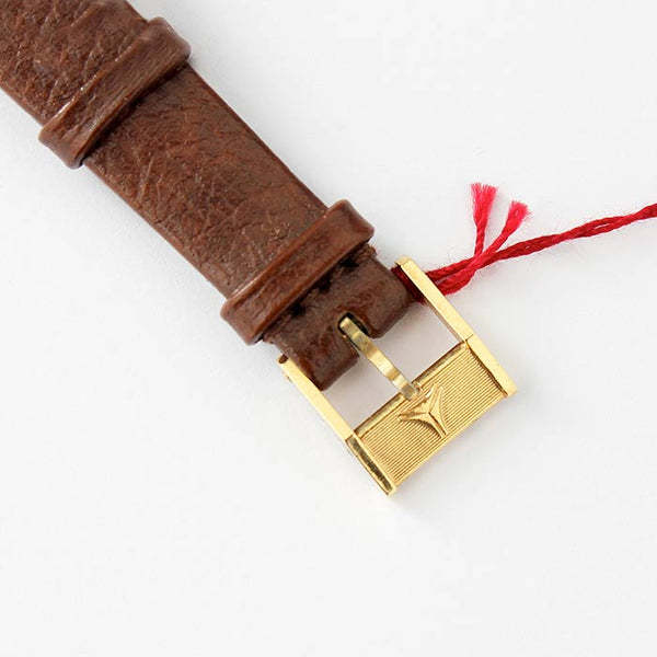 CYMA Ladies Watch on a Brown Leather Strap - Secondhand