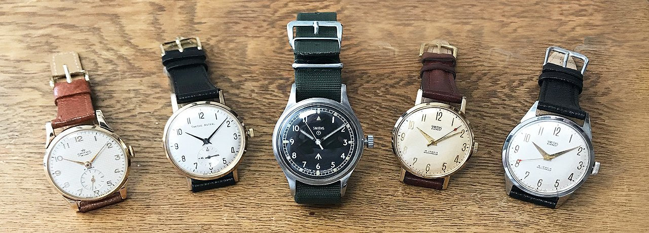 a selection of mens vintage watches