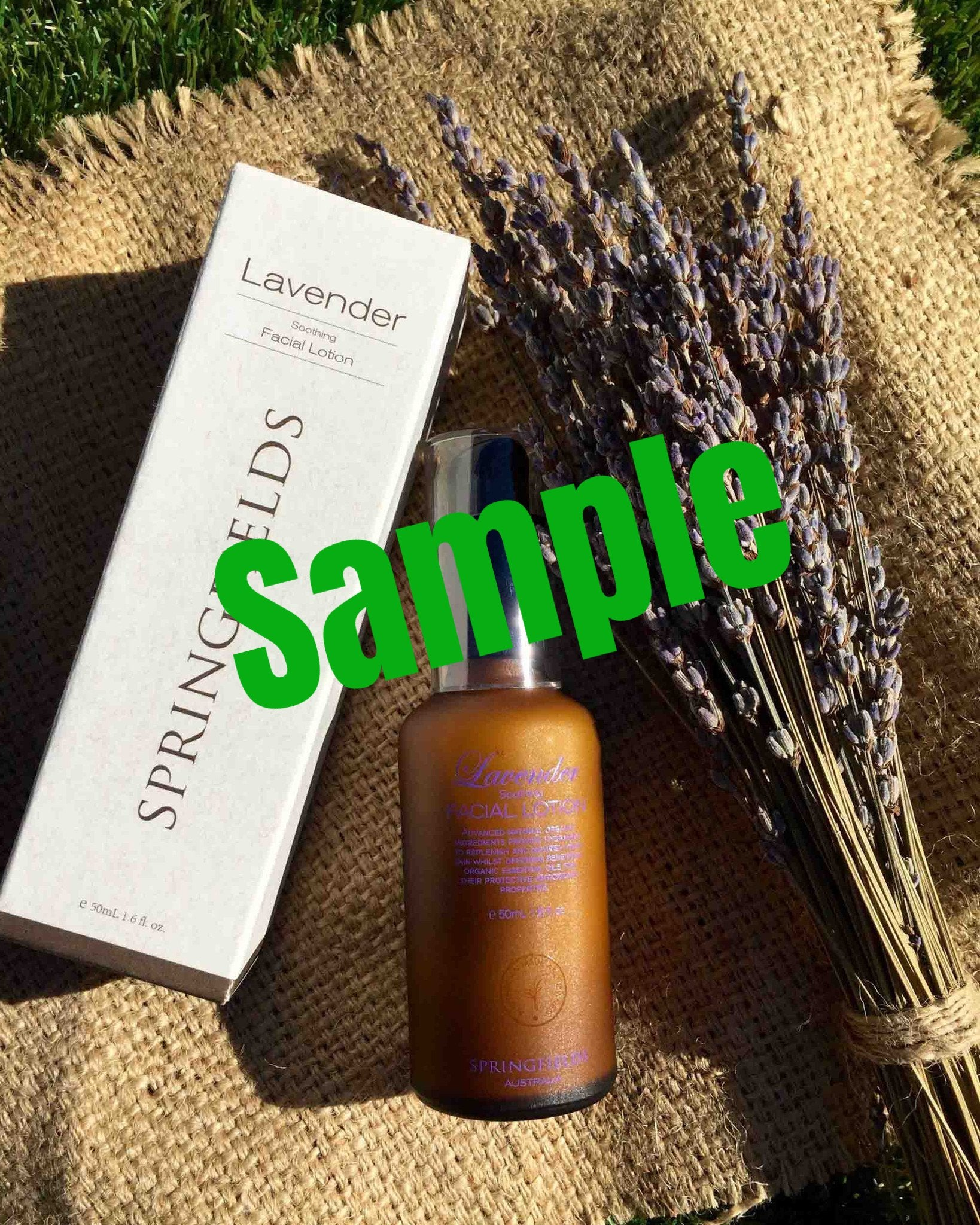 Sample - Lavender Soothing Facial Lotion 薰衣草舒緩保濕乳液