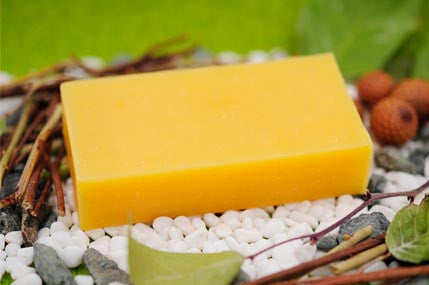 Honey Soap - Tropicana Coconut Milk with Leatherwood Beeswax  蜂蜜梘 - 芒果椰子革木蜂蠟