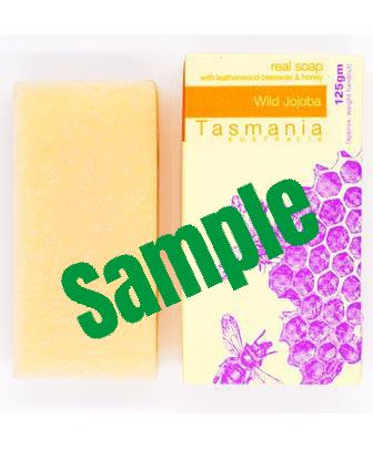 Sample Honey Soap - Wild Jojoba with Leatherwood Beeswax (Unscented) 蜂蜜梘 - 澳洲野生荷荷巴革木蜂蠟(無味)