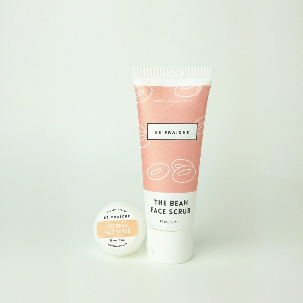 The Bean Face Scrub 日本赤豆面部磨砂保濕二合一