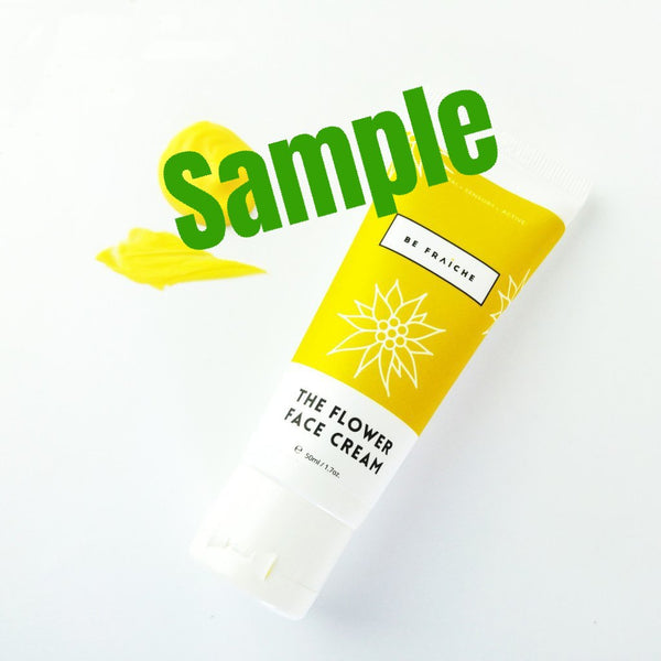 Sample - The Flower Face Cream 阿爾卑斯雪絨花面霜