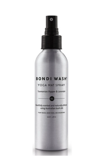 Bondi Wash - Yoga Mat Spray Tasmanian Pepper & Lavender 150ml 塔斯曼尼亞胡椒薰衣草瑜珈運動墊清潔劑