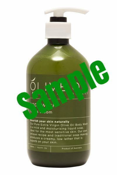 Sample - Olive Oil - Citrus Bloom Body Wash 橄欖油 - 清新柑橘淋浴露