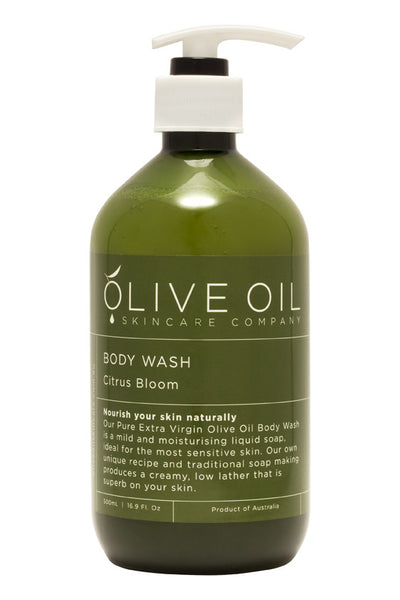 Olive Oil - Citrus Bloom Body Wash 500ml *NEW* 橄欖油 - 清新柑橘淋浴露500毫升