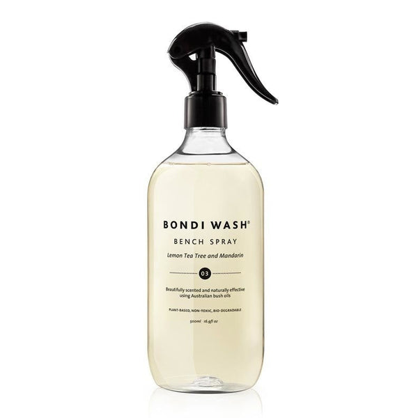Bondi Wash - Bench Spray Lemon Tea Tree & Mandarin 500ml *NEW* 檸檬茶樹柑橘家居清潔劑
