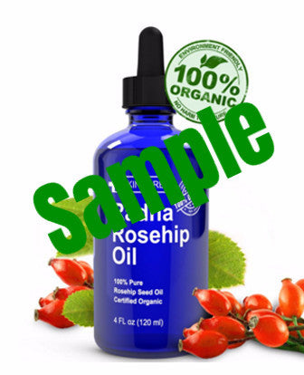 Sample - Rosehip Oil - 100% Pure Cold Pressed Certified Organic from Chile 100% 純正有機冷壓智利玫瑰果油