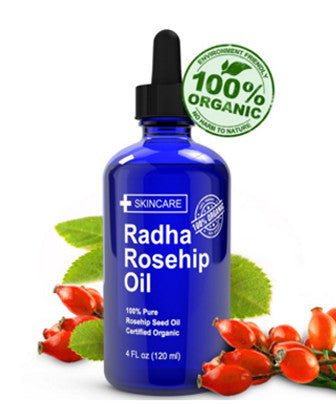 Rosehip Oil - 100% Pure Cold Pressed Certified Organic from Chile 100% 純正有機冷壓智利玫瑰果油