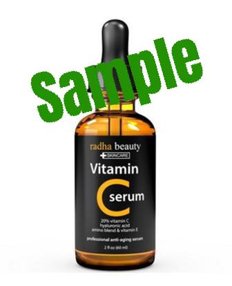 Sample Vitamin C Anti-aging Serum 維生素C抗衰老精華