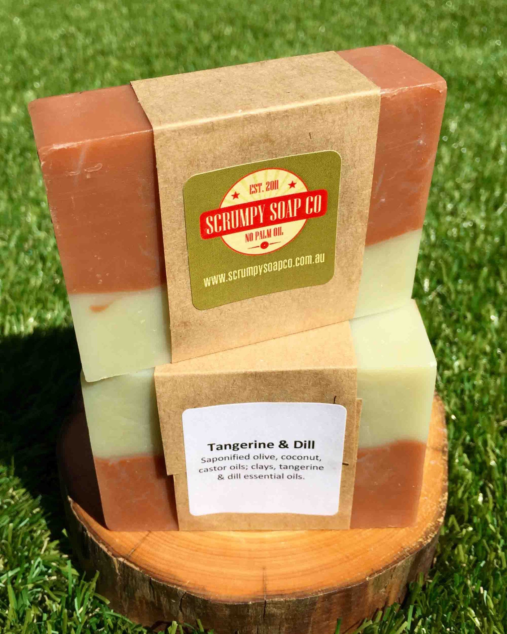 Vegan Friendly Soap - Tangerine and Dill  純素梘 -  橘子茴香