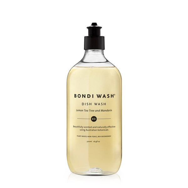 Bondi Wash - Dish Wash Lemon Tea Tree & Mandarin 500ml *NEW* 檸檬茶樹柑橘碗碟清潔液