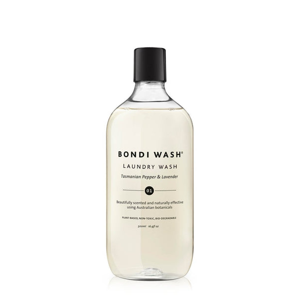 Bondi Wash - Laundry Wash Tasmanian Pepper & Lavender 500ml *NEW* 塔斯曼尼亞胡椒薰衣草洗衣液
