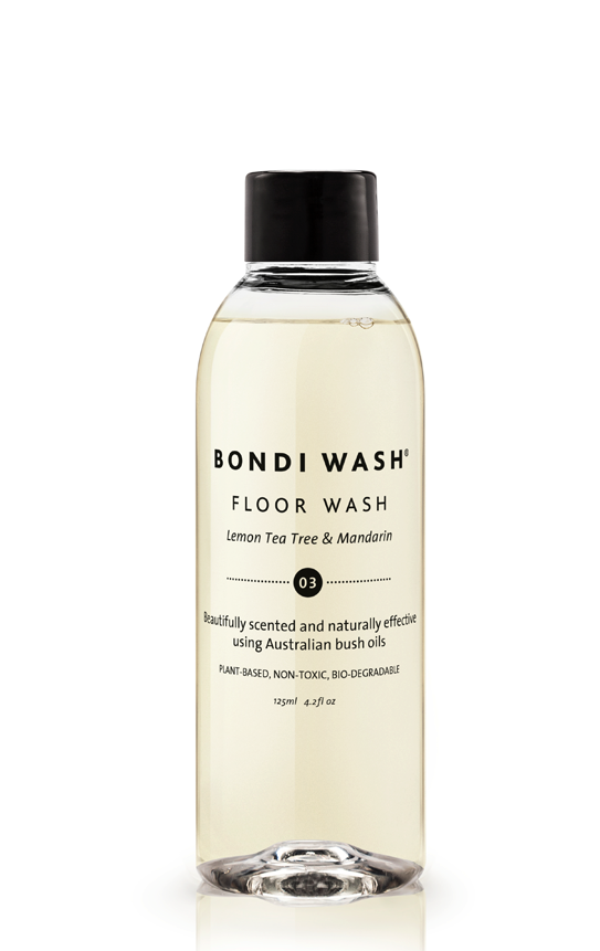 Bondi Wash - Floor Wash Lemon Tea Tree & Mandarin 125ml 檸檬茶樹柑橘地板清潔劑