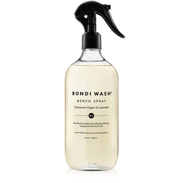 Bondi Wash - Bench Spray Tasmanian Pepper & Lavender 500ml 塔斯曼尼亞胡椒薰衣草家居清潔劑