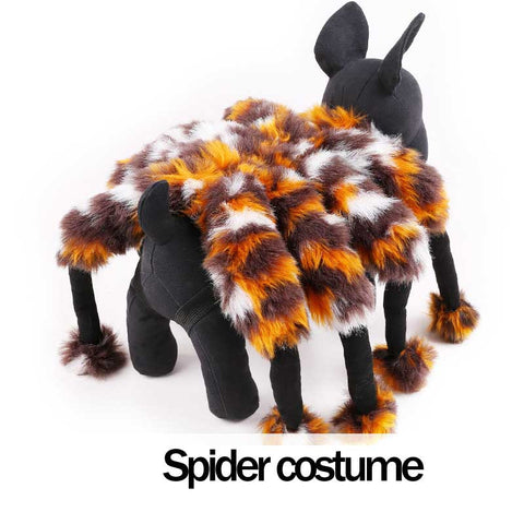Funny Halloween Spider dog costume
