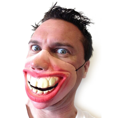 Big Teeth Latex Mask for Movie Fancy Dress Masquerade Party